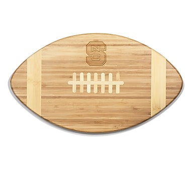 Picnic Time NCAA Touchdown! Engraved Cutting Board; North Carolina State