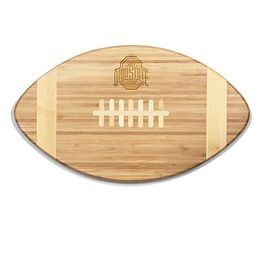 Picnic Time NCAA Touchdown! Engraved Cutting Board; Ohio State