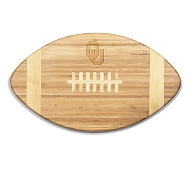 Picnic Time NCAA Touchdown! Engraved Cutting Board; Oklahoma