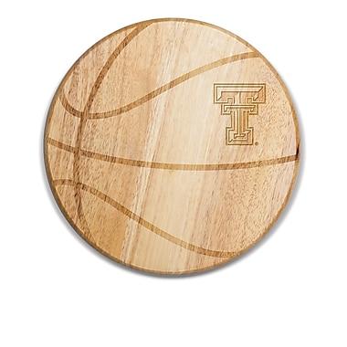 Picnic Time NCAA Free Throw Cutting Board; Texas Tech