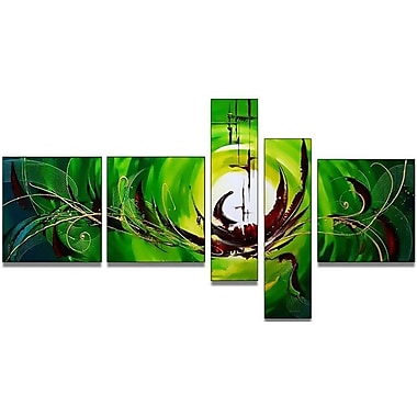DesignArt Modern Abstract 5 Piece Painting on Canvas Set