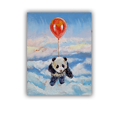 ArtWall ArtApeelz Balloon Ride by Michael Creese Painting Print on Canvas; 14'' H x 18'' W x 0.1'' D