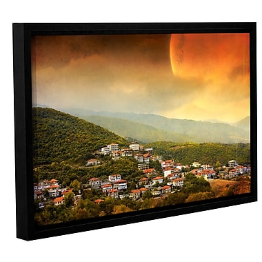 ArtWall 'Dawn' by Dragos Dumitrascu Framed Photographic Print on Wrapped Canvas; 12'' H x 18'' W