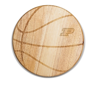 Picnic Time NCAA Free Throw Cutting Board; Purdue