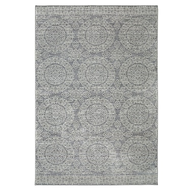 Karastan Pacifica Leawood Grey Area Rug; 9'6'' x 12'11''