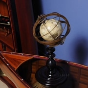 Old Modern Handicrafts Globe in Brass Rings