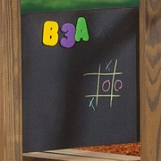 Playstar Wall Mounted Magnetic Chalkboard, 2' H x 2' W