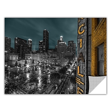 ArtWall ArtApeelz 'L.A.' by Revolver Ocelot Photographic Print Removable Wall Decal