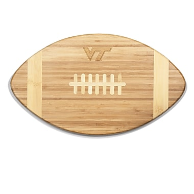 Picnic Time NCAA Touchdown! Engraved Cutting Board; Virginia Tech
