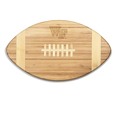 Picnic Time NCAA Touchdown! Engraved Cutting Board; Wake Forest