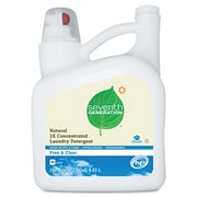 Seventh Generation Natural 2x Concentrate Liquid Laundry Detergent, Free & Clear,99loads,150oz,4/ct