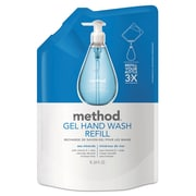 Method Gel Hand Wash Refill, 34 Oz Plastic Pouch, French Lavender, 6/carton