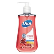 Dial Antimicrobial Liquid Soap, 7 1/2 Oz Pump Bottle, Pomegranate & Tangerine, 12/ct
