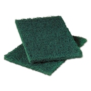 Scotch-Brite Heavy-Duty Commercial Scouring Pad 86, Dark Green, 6 x 9, 6/pack, 10 Pack/carton