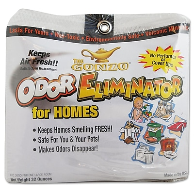 Gonzo Odor Eliminator, Volcanic Rocks, 32 Oz Net Bag WMN1013DEA