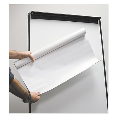 Universal Super Value Repositionable Easel Pad Roll, Unruled, 30