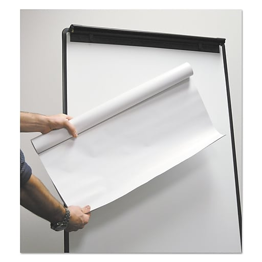 """Universal Super Value Repositionable Easel Pad Roll, Unruled, 30"""" x 27"""", 30 Sheets, 2/pack"""