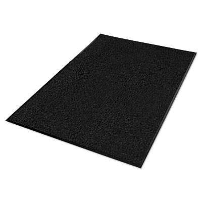 Guardian Platinum Series Indoor Wiper Mat, Nylon/polypropylene, 36 x 120, Black