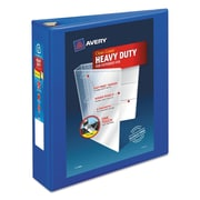 "Avery Heavy-Duty View Binder with 2"" One Touch EZD Rings, 540 Sheet Capacity, Pacific Blue (79778)"