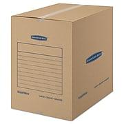 Bankers Box Smoothmove Basic Moving Boxes, 18l x 18w x 24h, Kraft, 15/carton