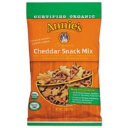 Annie's Homegrown Organic Cheddar Snack Mix, 2.5 Oz Bag, 12/carton
