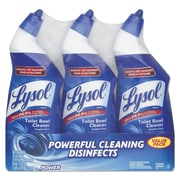 LYSOL Brand Disinfectant Toilet Bowl Cleaner, Wintergreen Scent, 24 Oz Bottle, 3/pack