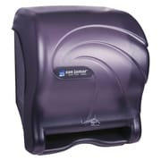 San Jamar Oceans Smart Essence Electronic Towel Dispenser,14.4hx11.8wx9.1d, Black, Plastic