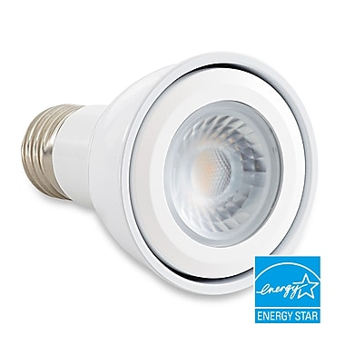 Verbatim PAR20 LED Bulb, Contour Series, High CRI 3000K, 470 Lumens 25-degree beam angle, 50W Replacement, Dimmable