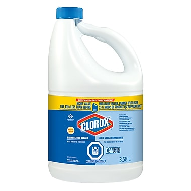 Clorox Bleach 7.4% Professional, 3.58L, 3/Pack