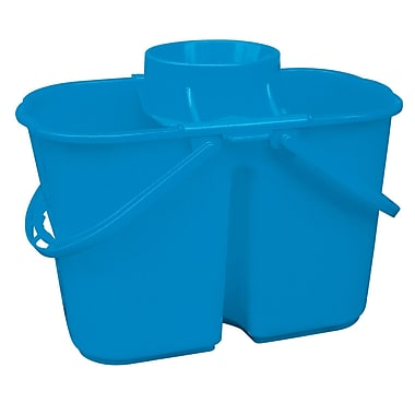 Dura Plus Divided Blue Pail With Wringer 4 Gal, Each