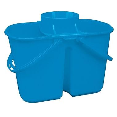 Dura Plus – Seau divisé avec essoreuse 4 gallons, chacun