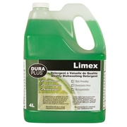 Dura Plus Limex Quality Liquid Dishwashing Detergent 4L, 4/Pack