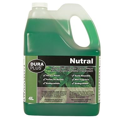 Dura-Plus – Détergent naturel tout usage menthe poivrée 4 l, 4/paquet