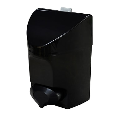Push Button Hand Soap Dispenser 30 oz., Black, Each