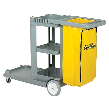 Janitor Cart With Vinyl Bag 55.625