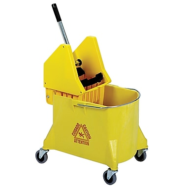 Yellow Combo 11 Gal Bucket and Wringer, Each