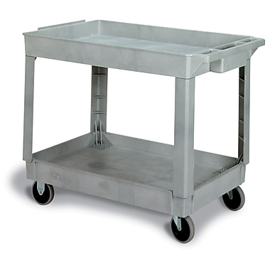 Gray Large Utility Cart Open-sides 40.375
