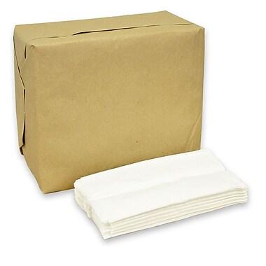 Serviettes de table de luxe pour distributeur, 13,25 x 6,5 po, 9008 serviettes/boîte