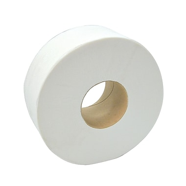 Dura Plus Jrt White 2 Ply Bathroom Tissue 165 Metres Core 3.3'', 8/Case
