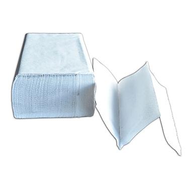 Dura Plus – Papier blanc pour les mains multiépaisseurs Diamond, 250 feuilles x 9 po, 16/paquet