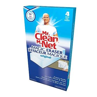 Mr. Clean – Éponge effaceur magique, 4 paquets, 4/paquet, 6 paquets/boîte
