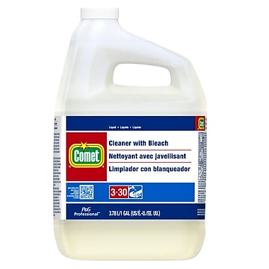 Comet Cleaner With Bleach 3.78 L, 3 Packs/Case