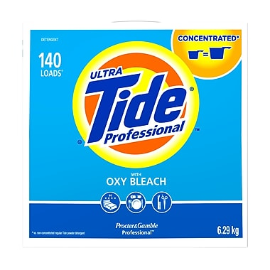Tide Professional Powder Laundry Detergent with Oxy-Bleach, 6.29kg