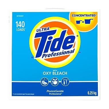 Tide – Détergent à lessive en poudre professionnel avec javellisant Oxy, 6,29 kg