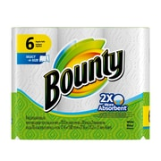 Bounty 2-Ply select A Size Paper Towel, 70 Sheets/Roll, 6/Pack, 4 Packs/Case