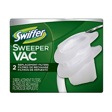 Swiffer Sweeper Vca filtres de rechange, 2/paquet, 12/étui