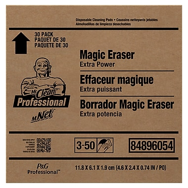 Mr. Clean Extra Power Magic Eraser Sponge 30 Units, 30 Packs/Case