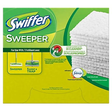 Swiffer – Recharges sèches pour Sweeper, 4 x 32, 32/paquet, 4 paquets/boîte
