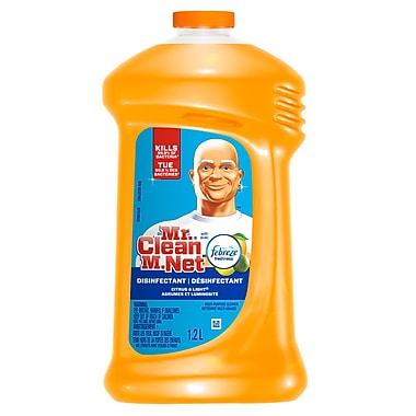 Mr. Clean Cleaner With Orange Febreze 9 x 1.2L, 9 Packs/Case