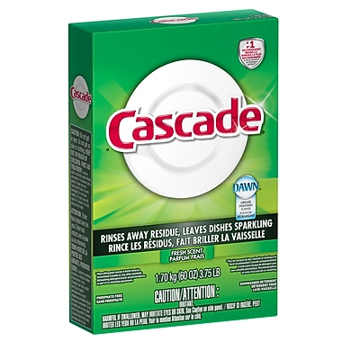 Cascade Detergent With Dawn For Dishwashing Machine 1.7 Kg, 6 Packs/Case